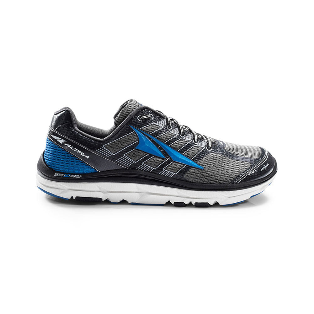 ALTRA Mens Provision 3 Charcoal-Blue Running Shoes (AFM1745F-1)