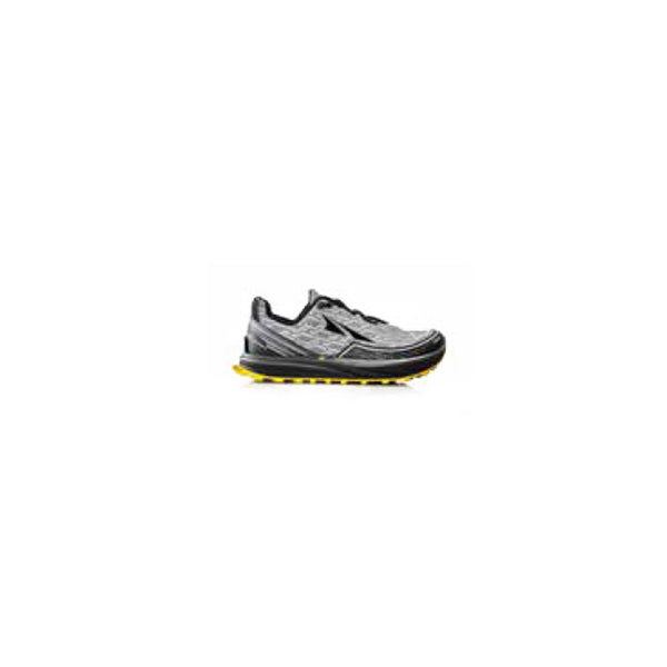 ALTRA Mens Timp IQ Gray-Yellow Trail Running Shoes (AFM1757Q-4)