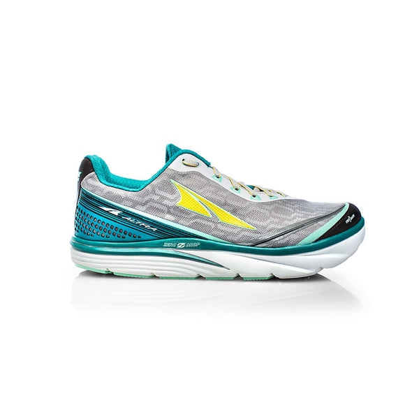 ALTRA Womens Torin IQ Teal-Gray Running Shoes (AFW1737Q-1)