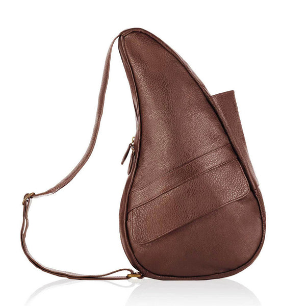AMERIBAG 5103-CT HBB Chestnut Leather Small Healthy Back Bag