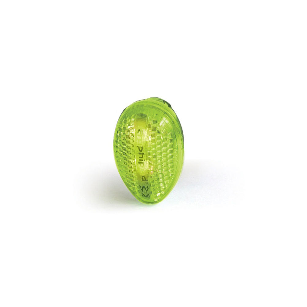 AMPHIPOD Full-Viz Flash Clip-On Amp Green Running Light (491)