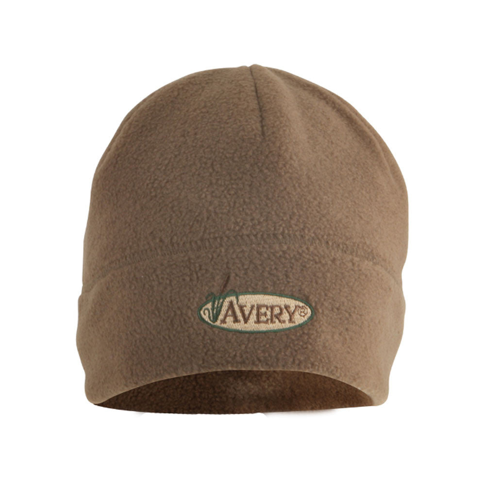 AVERY Dark Moss Windproof Fleece Skull Cap (48264)