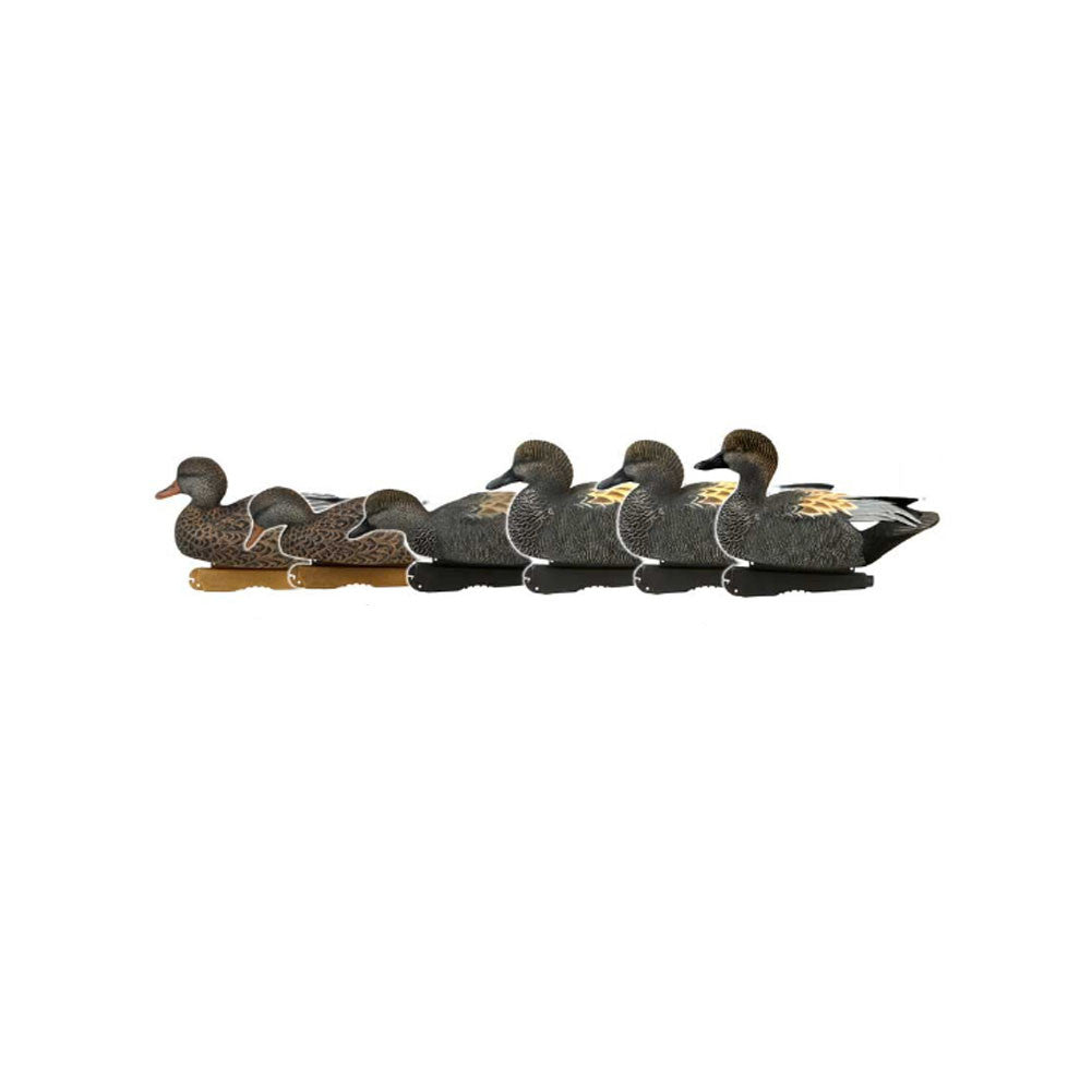 AVERY 6 Pack of Pro-Grade Gadwall Decoys (73145)
