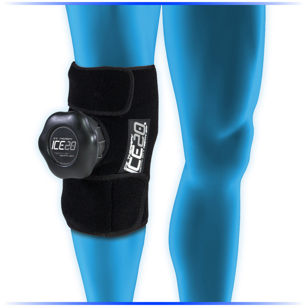 BOWNET ICE20 Single Knee Ice Compression Wrap (ICE-Single Knee)