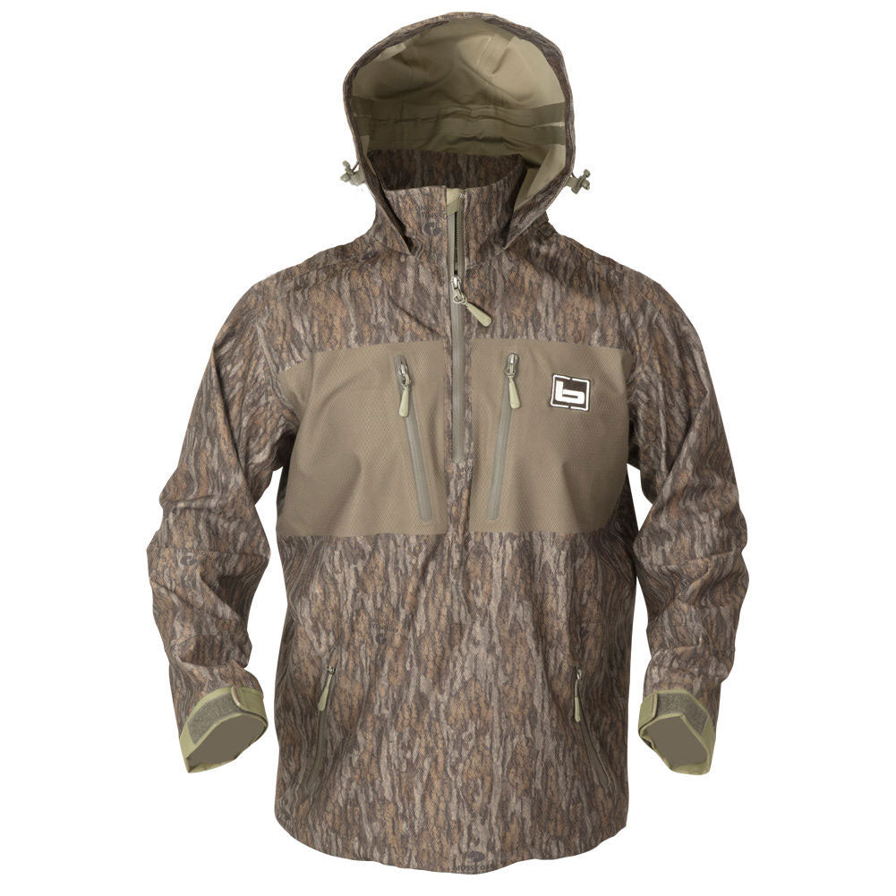 BANDED Waterproof 1/4 Zip Bottomland Hooded Pullover (480-PAR)