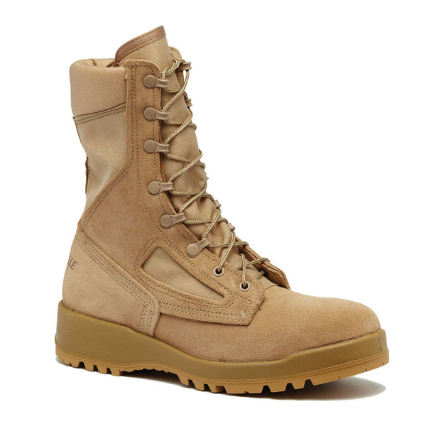 BELLEVILLE 390DES Hot Weather Tan Combat Boot