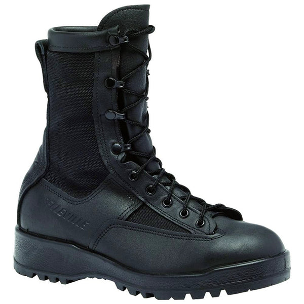 "BELLEVILLE 8"" Waterproof Duty Black Boot (700V)"