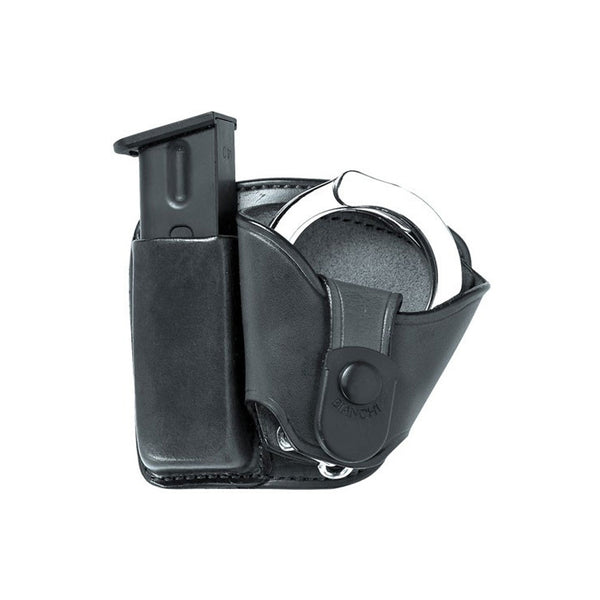 BIANCHI #45 Beretta,Browning,Kahr,Ruger,S&W,Sig Sauer Mag & Cuff Paddle Holster (19891)
