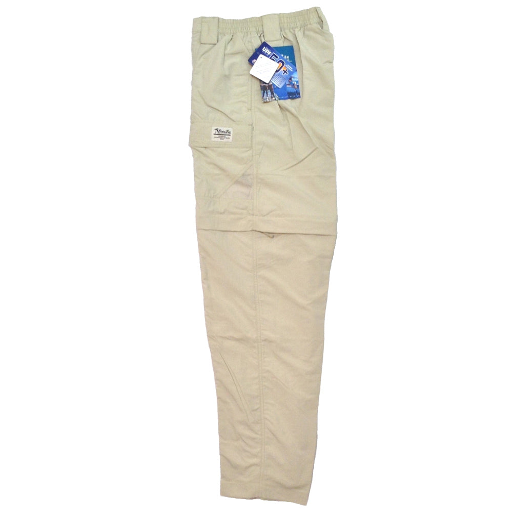 BIMINI BAY OUTFITTERS Grand Cayman Fossil Zip-Off Pant (61670-F)