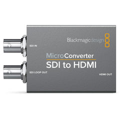 BLACKMAGIC DESIGN Micro Converter SDI to HDMI No PSU (CONVCMIC/SH)