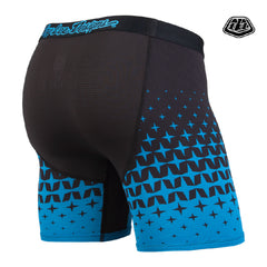 BN3TH Troy Lee Megaburst Black/Cyan Boxer Brief (TLDBB-281)