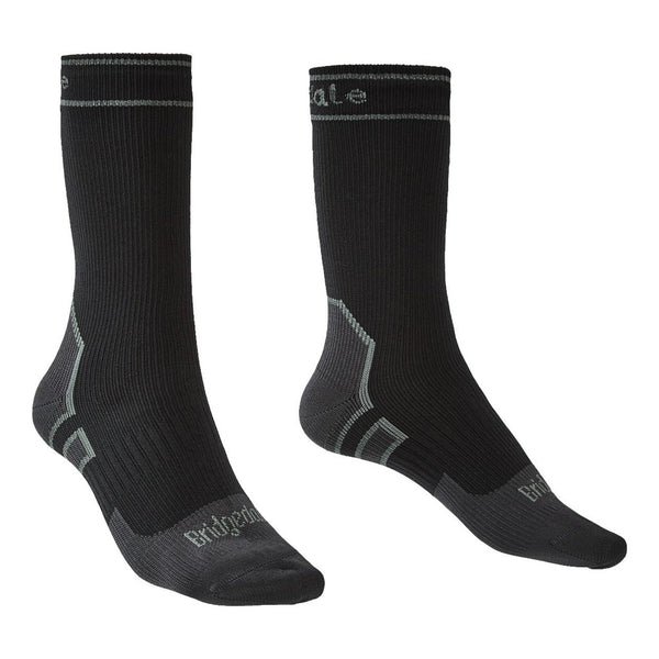 Bridgedale StormSock Lightweight Boot Black/Mid Grey Socks (710089-845)