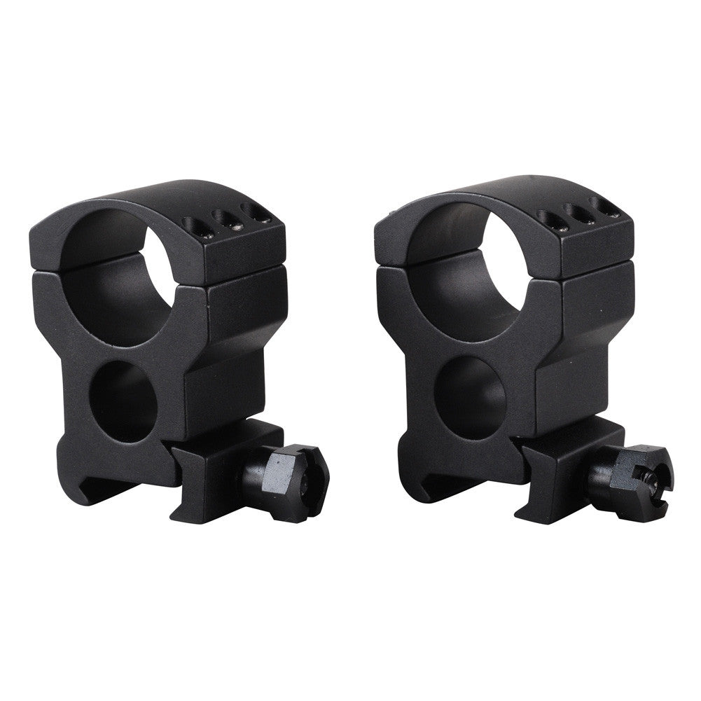 BURRIS Xtreme Tactical 1in Extra High Matte Black Rings (420183)