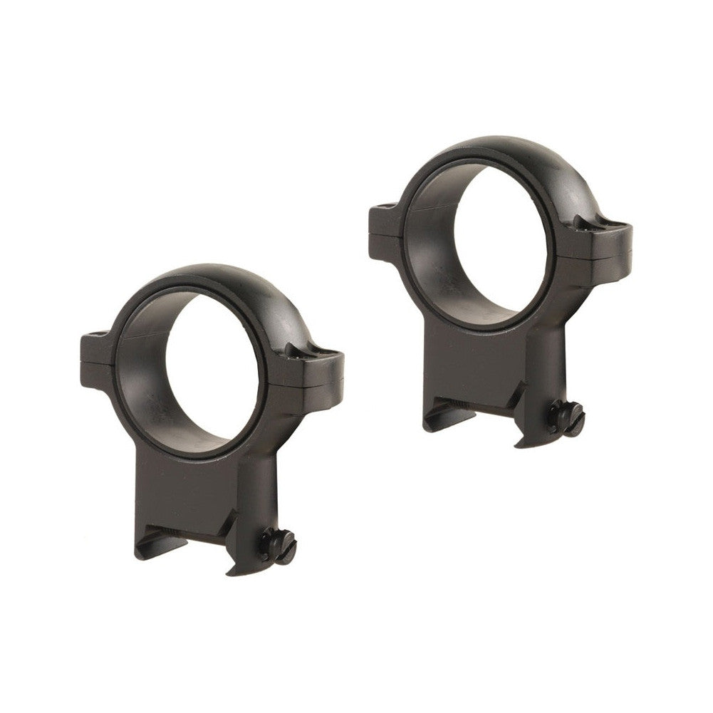BURRIS Signature Zee Weaver-Style 30mm Extra High Matte Black Rings (420585)