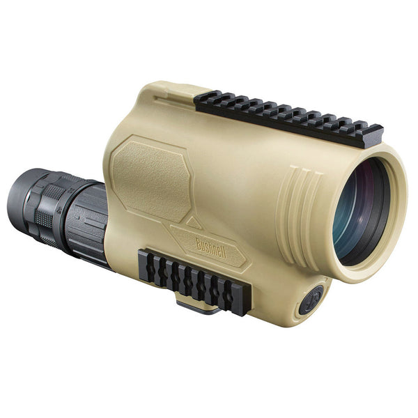 BUSHNELL Legend Tactical 15-45x60 T Series Mil-Hash Reticle FDE Spotting Scope (781545ED)