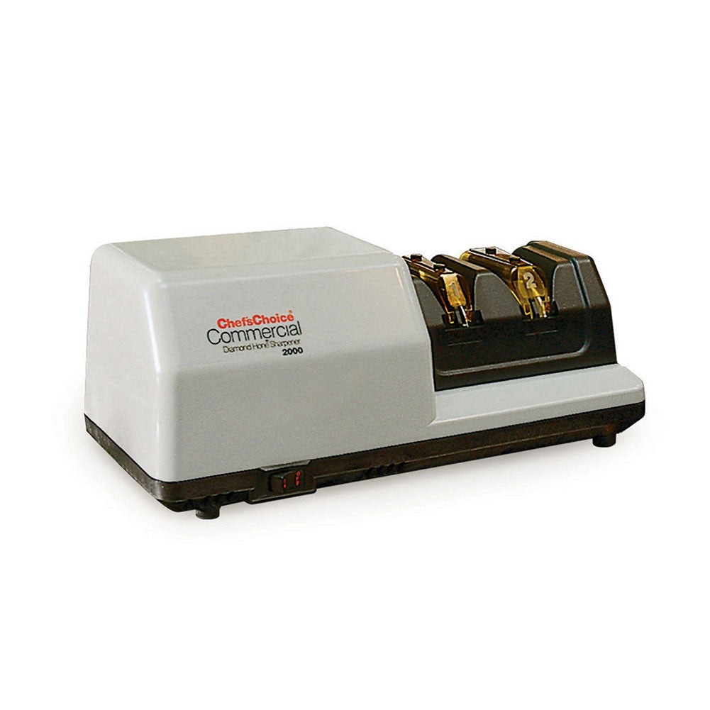 CHEF'S CHOICE 0200004 M2000 Commercial Diamond Hone Gray Sharpener