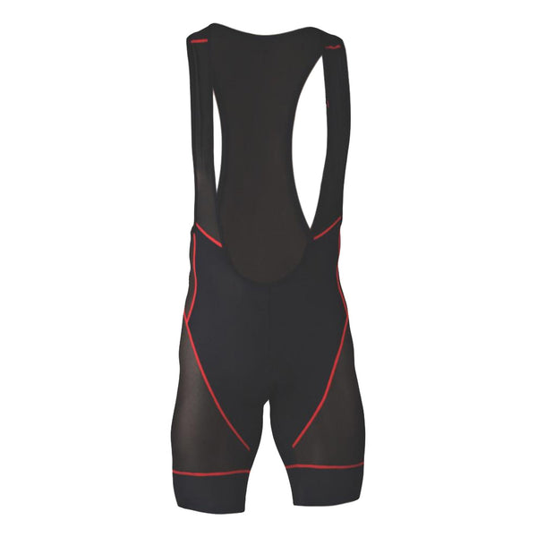 CLUB RIDE Mens Airliner 4 Hour Gel Chamoi Raven Mesh Bib (MAL601)