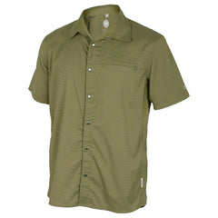 CLUB RIDE Mens Short Sleeve Olive Stripe Top (MJVB701OS)