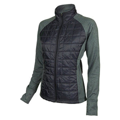 CLUB RIDE Womens Two Timer Synthetic Fill Hyrbrid Raven Jacket (WJTT501RA)