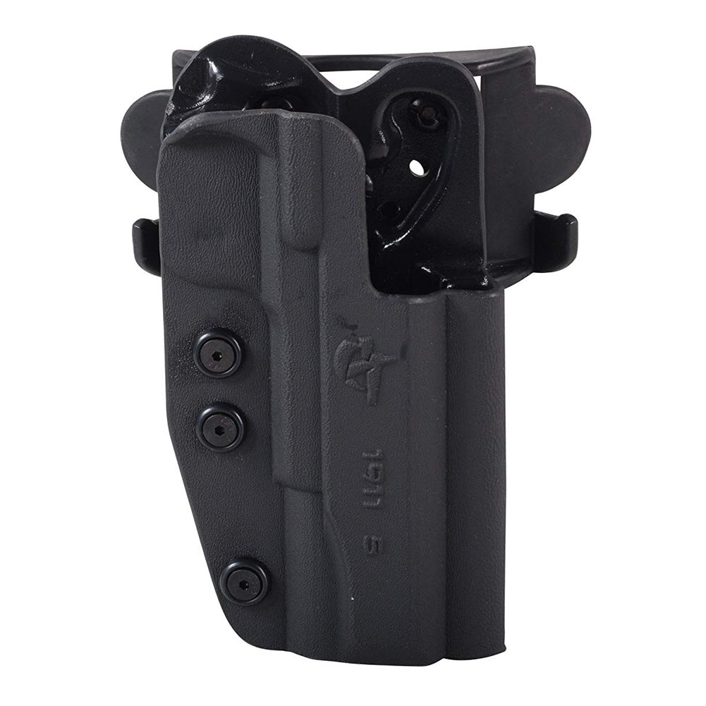 COMP-TAC International OWB Modular Mount 1911 5in RSC Black Holster (C24119006RBKN)