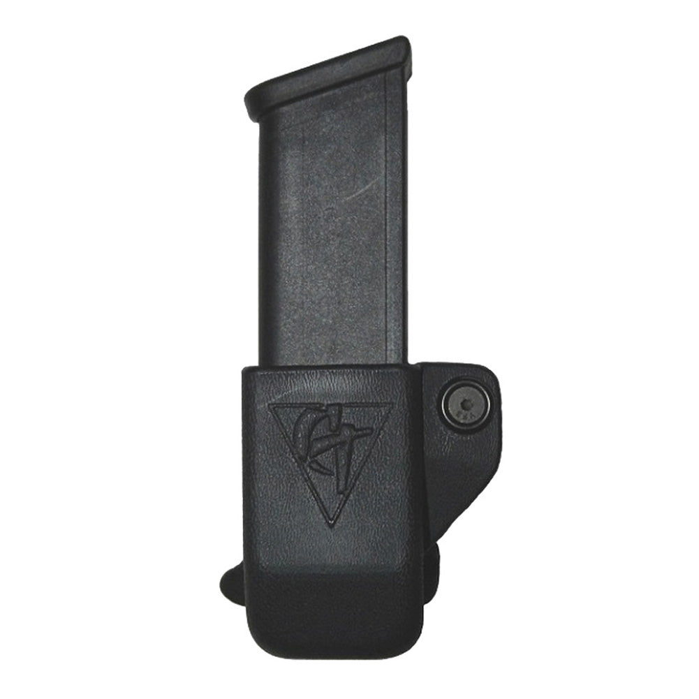COMP-TAC Single OWB Kydex Size4 Glock 9/40/45 GAP Magazine Pouch (C62104000LBKN)