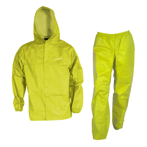 COMPASS 360 Youth Eco-Lite B63 with Stuff Sack Yellow Rain Suit (EL12304-60)