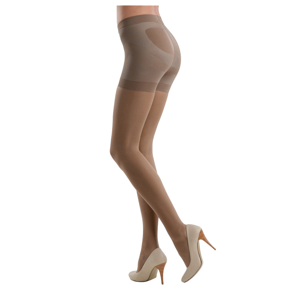 Conte elegant Women's Butt Control Push Up 40 Denier Pantyhose