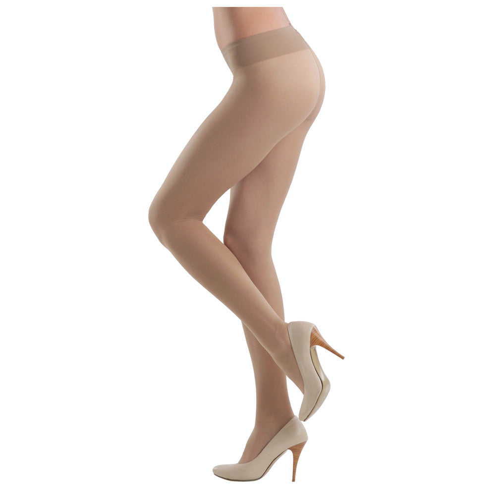 Conte Women's Soft Top Low Waist Nude Pantyhose Tights