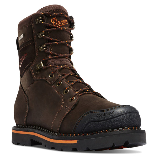 DANNER 13243 Trakwelt 8in Brown NMT Boots