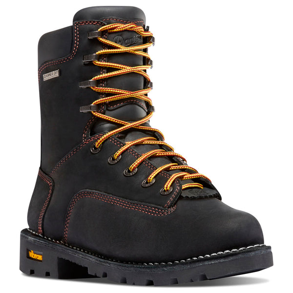 DANNER 14220 Gritstone 8in Black Work Boots
