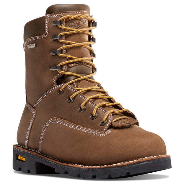 DANNER 14224 Gritstone 8in Brown Work Boots