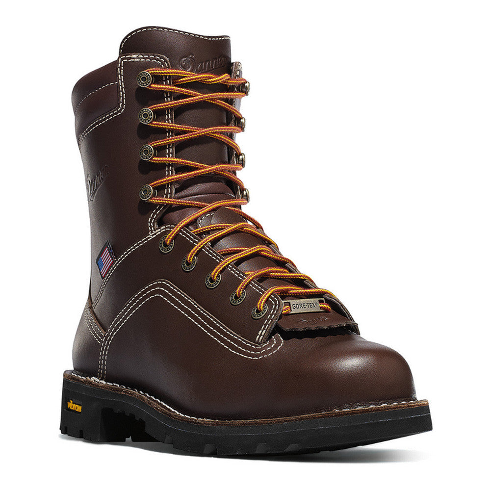 DANNER Quarry USA 8in Alloy Toe Work Boots (17307)