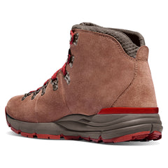 DANNER 62245 Womens Mountain 600 4.5in Brown-Red Hiking Boots