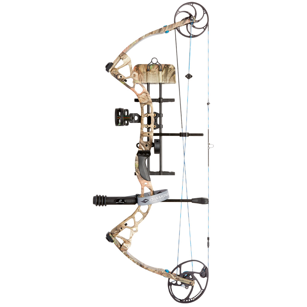 DIAMOND ARCHERY Provider 31in 70lb Breakup Country Left Hand Compound Bow (A12494)