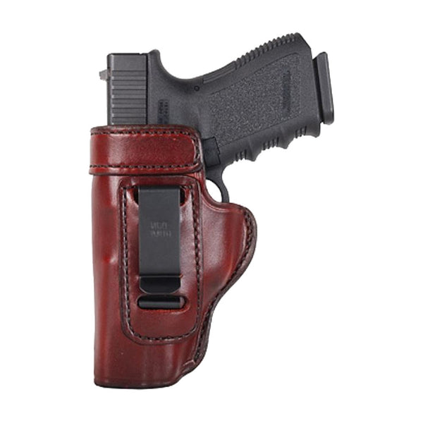 DON HUME J168001L Clip On H715-M Left Hand 1911 Government Brown Holster