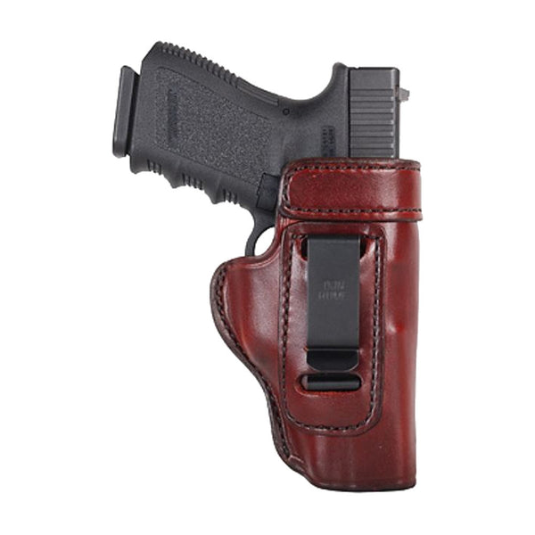 DON HUME J168042R Clip On H715-M Right Hand Sig 230/232 Brown Holster