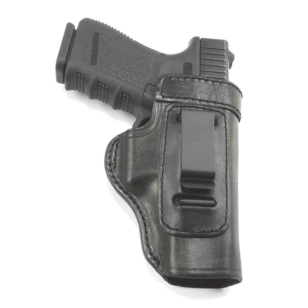 DON HUME Clip On H715-M Right Hand Glock 17/22/31/ Taurus PT908 Black Holster (J168790R)