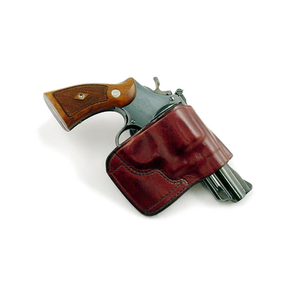 DON HUME JIT Slide Right Hand S&W K Frame/ Ruger Speed Six/Service Six Brown Holster (J968550R)