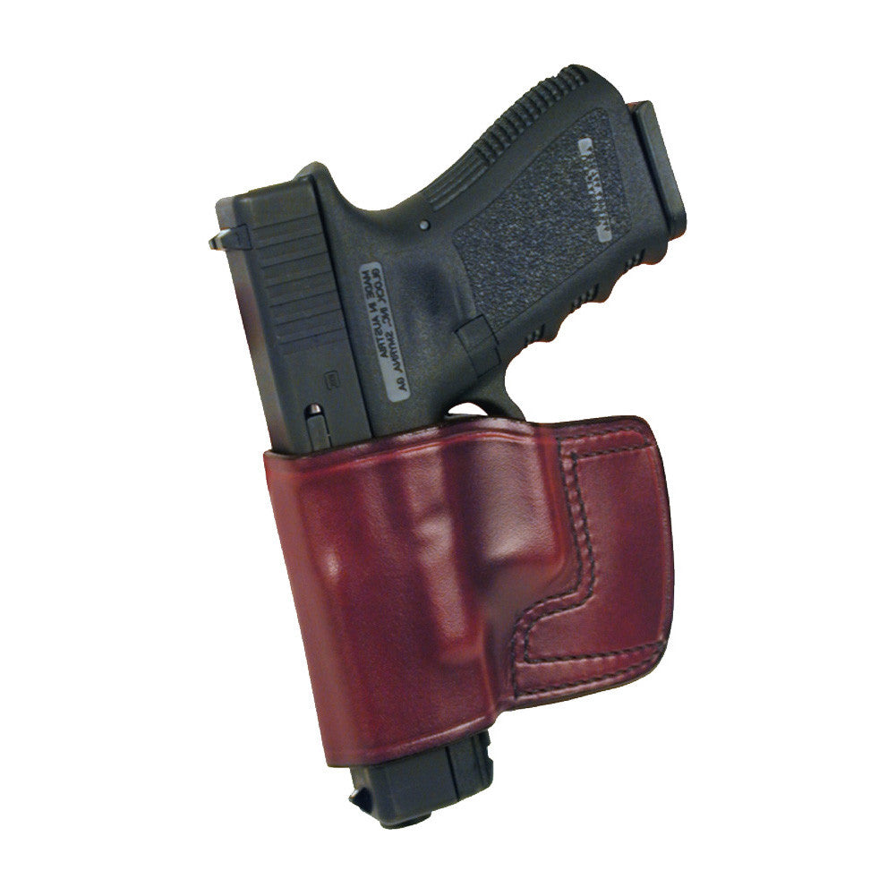 DON HUME JIT Slide Left Hand Taurus PT145/PT111 Millenium Pro Brown Holster (J983915L)