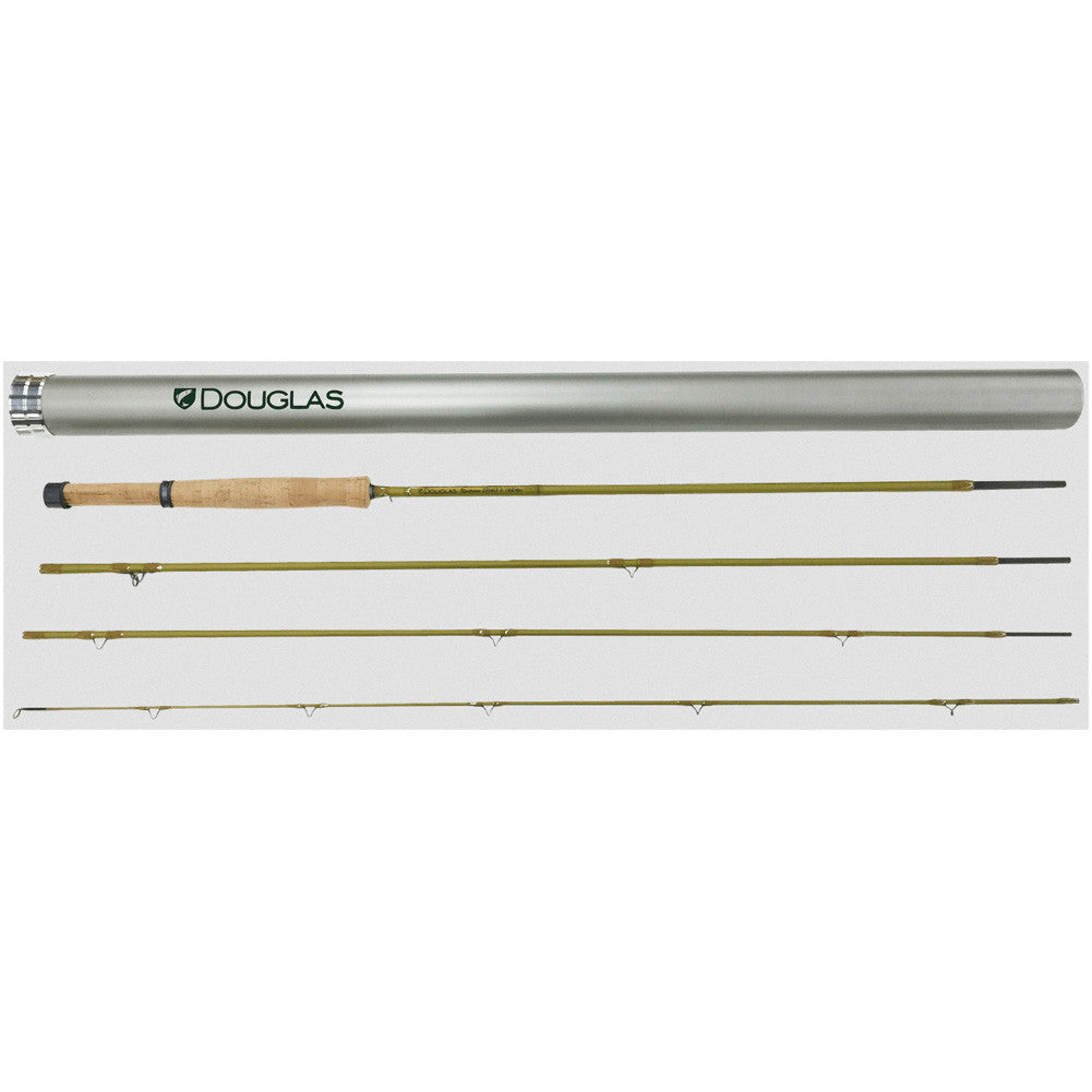 DOUGLAS OUTDOORS Upstream Ultra-Lite 4pc Fly Fishing Rod (21000)