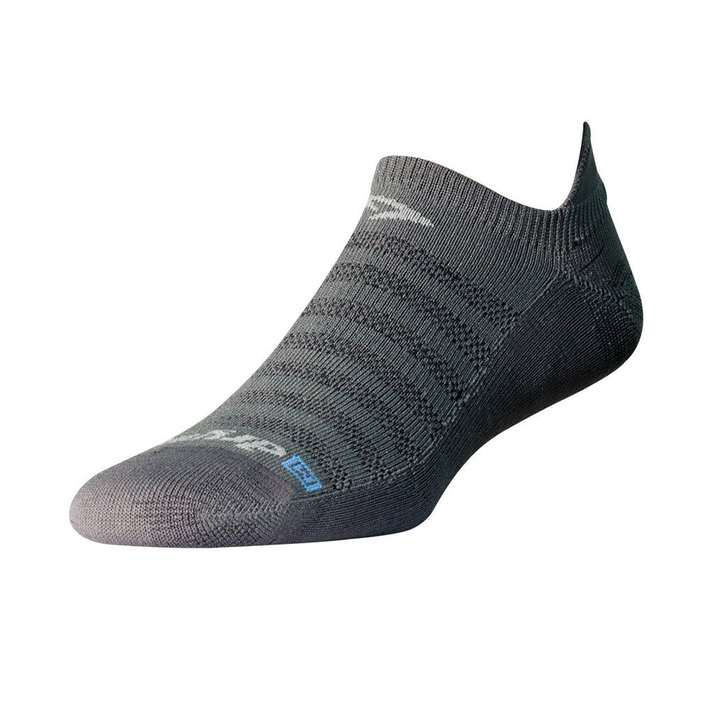 DRYMAX Running Lite-Mesh Gray No Show Tab Socks (DMX-RUN-1082)