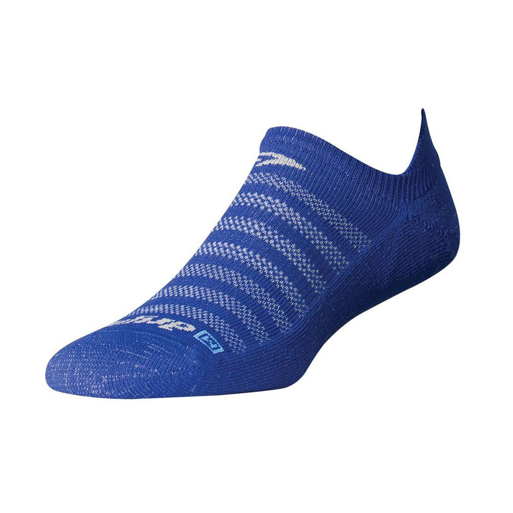 DRYMAX DMX-RUN-1083 Running Lite-Mesh Blue No Show Tab Socks