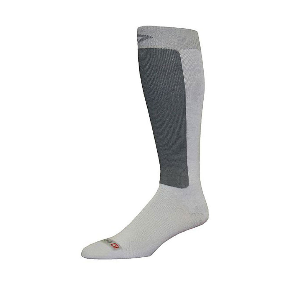 DRYMAX DMX-SKI-7700 Ultra Thin Skiing Gray Over Calf Socks