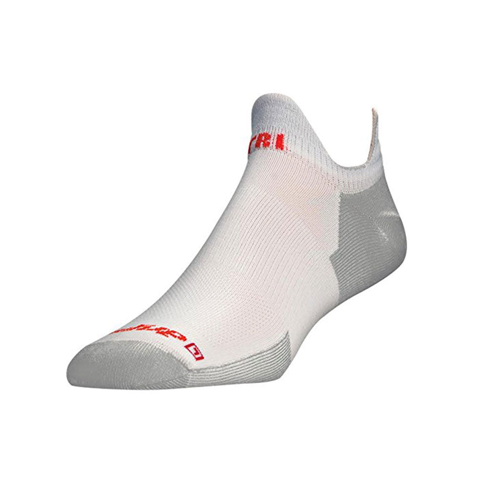 DRYMAX DMX-TRI-1141 Triathlete White Double Tab Socks