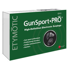 ETYMOTIC RESEARCH GunSport PRO GSP 15 Electronic Earplugs (ER125-GSP15BN)