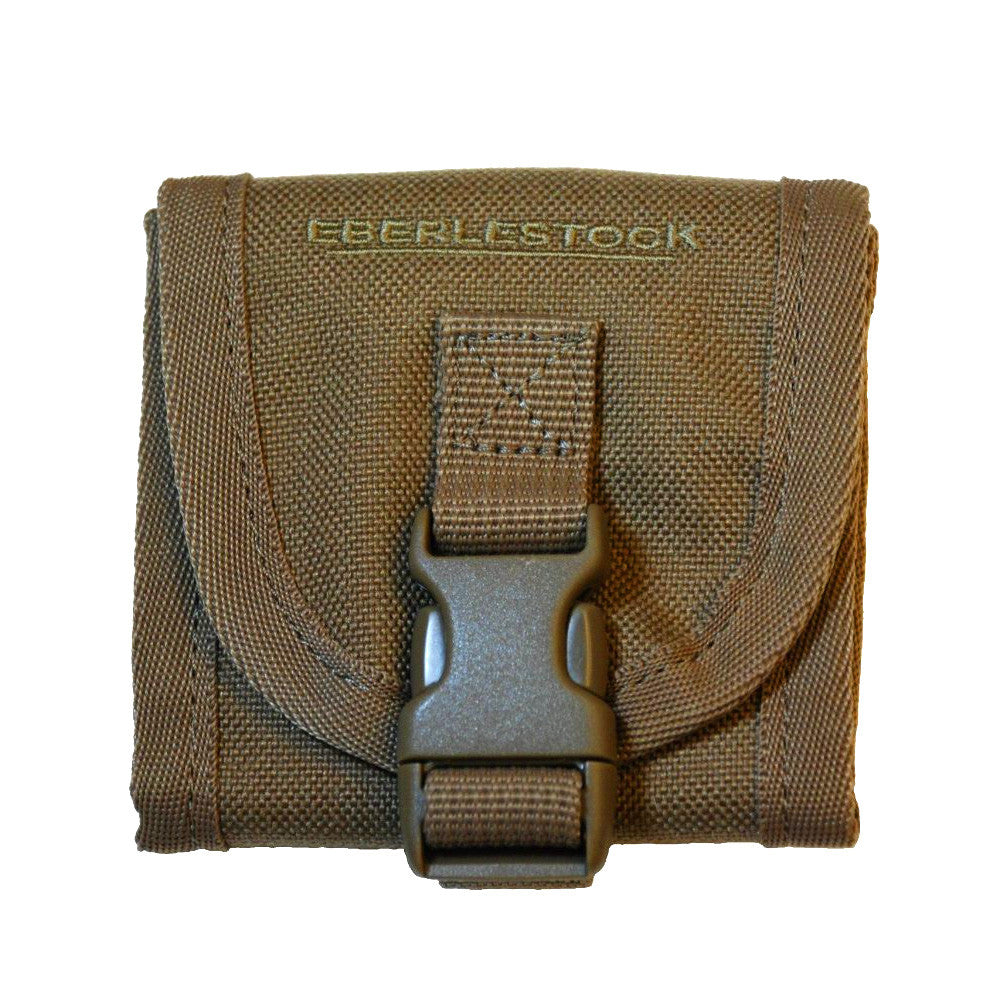 EBERLESTOCK Mini Coyote Brown Pouch (A1BCMC)