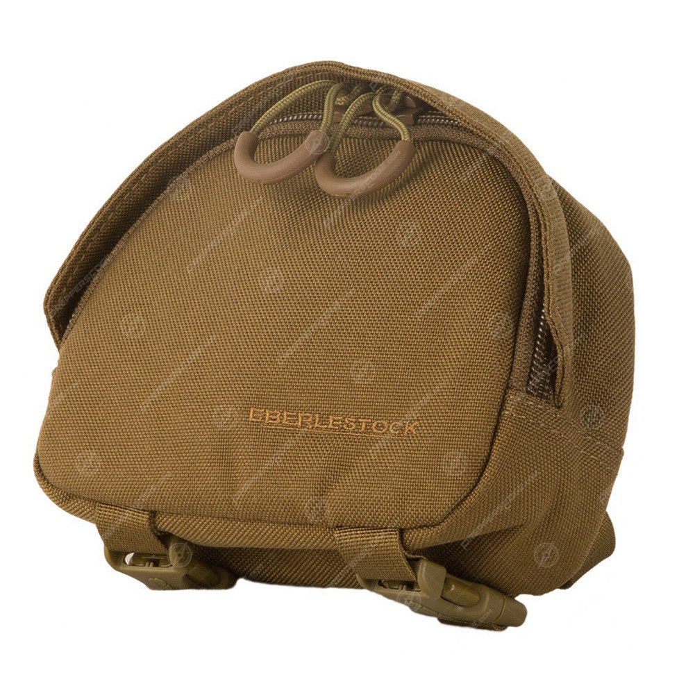 EBERLESTOCK Padded Small Coyote Brown Accessory Pouch (A1SPMC)