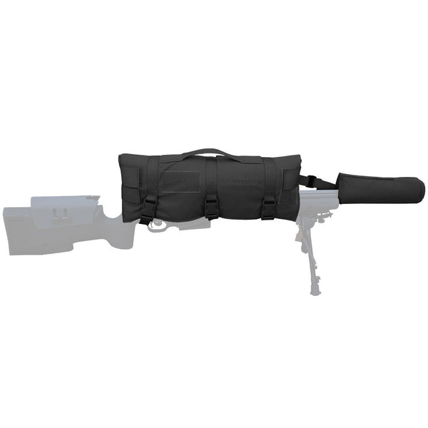 EBERLESTOCK Black Scope Cover with Crown Shield (ARSC-CPMB)
