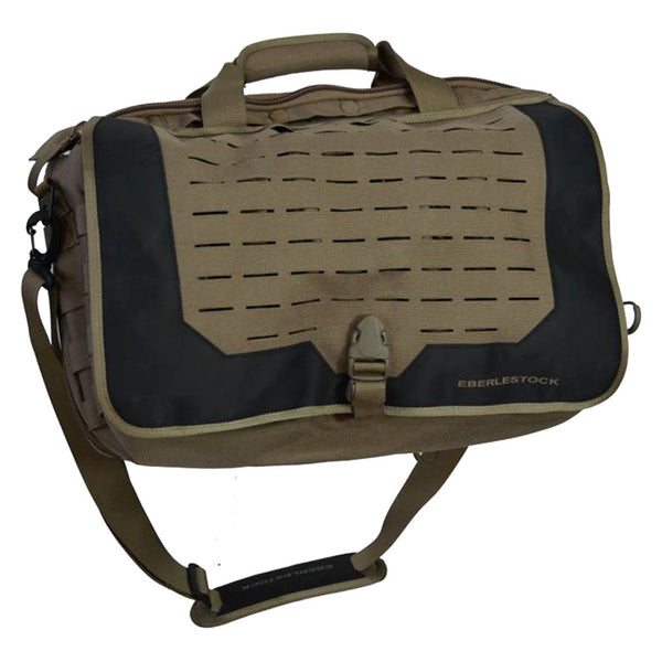EBERLESTOCK Combat Office Dry Earth Briefcase (B1ME)