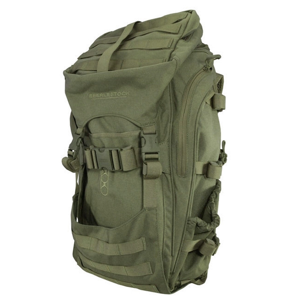 EBERLESTOCK Transformer Military Green Backpack (F2MJ)